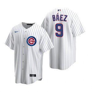 Chicago Cubs #9 Javier Baez Jersey